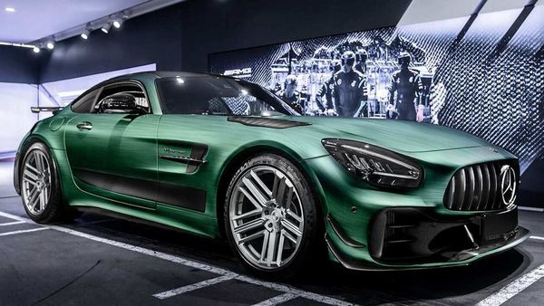 Mercedes-AMG GT R Pro Tattoo Edition. (Photo Courtesy: Carlex Design Europe Facebook page)