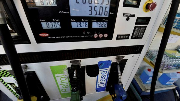Diesel price in Delhi is inching towards ₹82 per litre and widening its gap with petrol price. (File photo) (PTI)