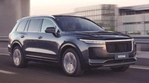 Photo of Li ONE electric SUV. (Photo courtesy: Li Auto)