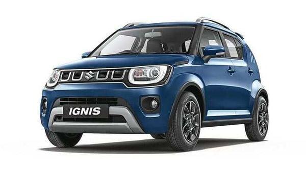 The new 2020 Ignis from Maruti Suzuki.