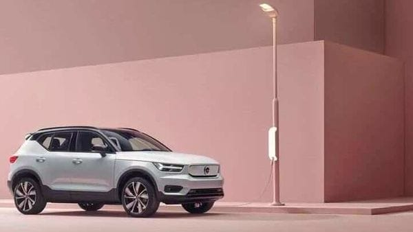 The all-electric XC40 from Volvo arrives in international markets in late 2020.
