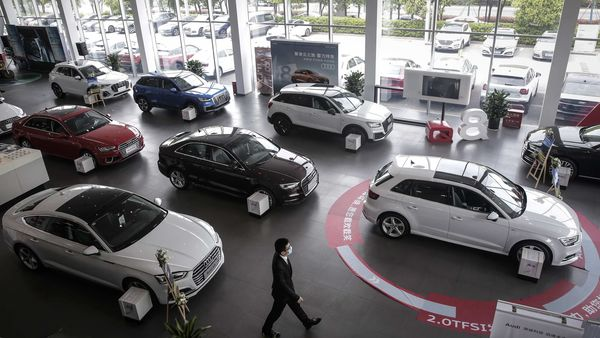 File photo of a new car showroom used for representational purpose only. (Bloomberg)