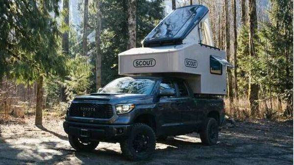 The Scout Olympic truck camper