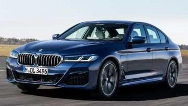 The new BMW 5 Series sedans