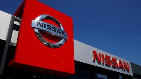 A Nissan car dealership is pictured in Northwich, following the outbreak of the coronavirus disease, Northwich, Britain (REUTERS)