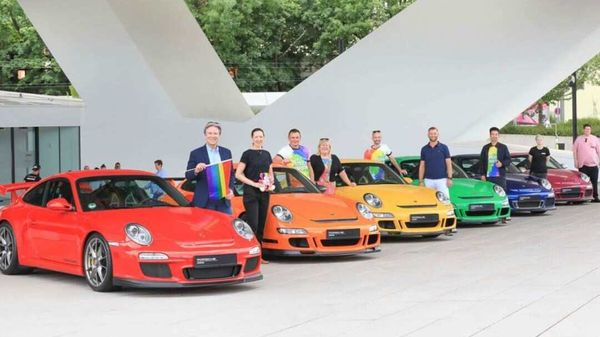 Porsche took a stance for acceptance and mutual trust at events surrounding the Christopher Street Day gay pride festival.