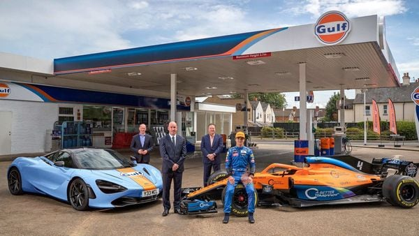 Gulf Oil brand will be integrated into the McLaren Formula 1 team from the British Grand Prix 2020.