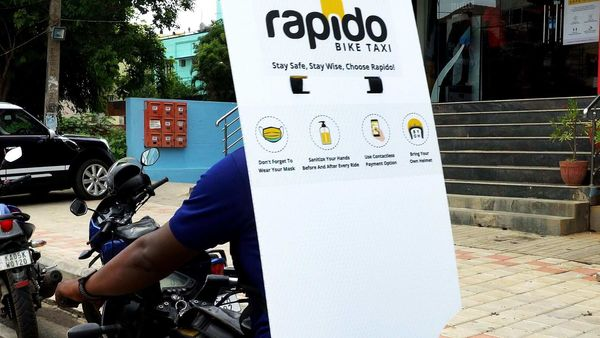 Back shield for riders introduced by Rapido bike taxi service