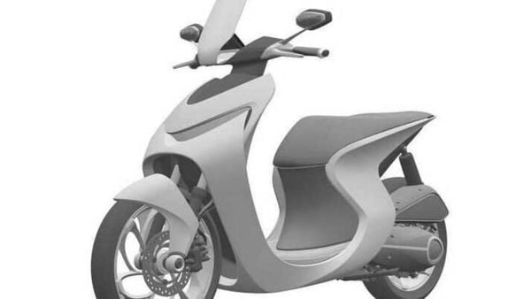 The hardware components on the Honda's retro scooter such as suspension and brakes look purely conventional. Image Source: Bennetts.co.uk