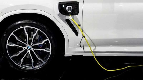 File photo of a BMW M plug-in hybrid electric vehicle used for representational purpose (REUTERS)