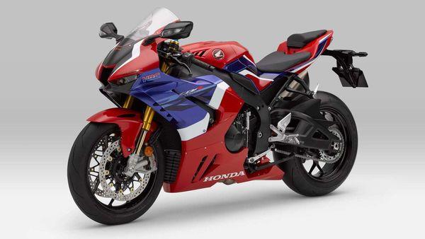 2020 Honda CBR1000RR-R Fireblade pictured.