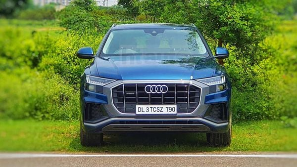 Q8 stands as the flagship SUV of Audi in India. (HTAuto.com/Sabyasachi Dasgupta)