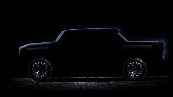Screengrab from the teaser video shared by GMC show Hummer electric pickup profile. (Photo courtesy: YouTube/GMC)
