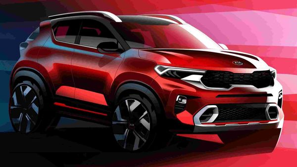 Sonet SUV from Kia will make its world debut on August 7 and will be launched most likely in September. Its exterior features very distinctive and dynamic design lines.