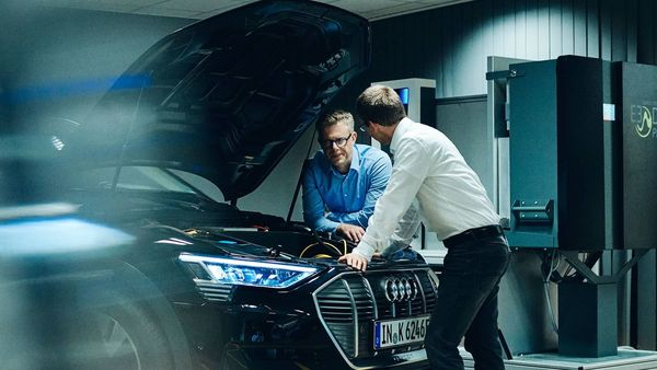 Audi is prepping for a world where its electric vehicles could hold it steady against rivals.