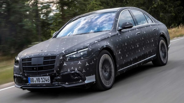 The E-Active Body Control system will be featured as an option on the next-gen Mercedes-Benz S-Class.