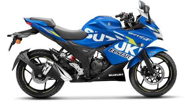 Suzuki Gixxer SF BS 6 in MotoGP Edition