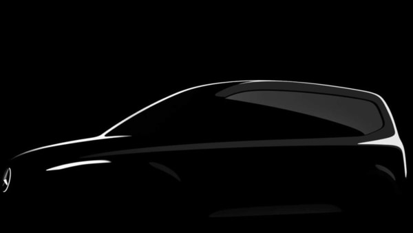 Mercedes-Benz has shared the first image of a completely new family compact van, which will be called the T-Class.