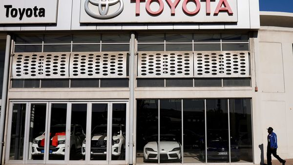 Toyota's sales in US last month fell 19% versus the same month in 2019, to 169,484 units. (File photo) (REUTERS)