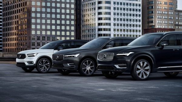 In July, the XC40 compact SUV was the top selling model for the company, followed by the XC60 mid-size SUV and the XC90 large SUV.