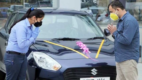Maruti Suzuki says increase in cost of acquisition of a car, coupled with other hurdles to be crossed to obtain a loan, led to a fall in sales.