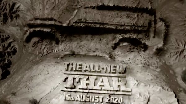 Mahindra and Mahindra will launch new generation Thar SUV on Independence Day, August 15.