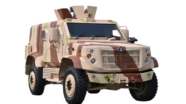 Photo of a Tata Defence Combat Light Armored Multi Role Vehicle