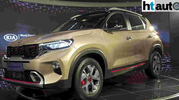 Kia has officially unveiled the production version of the Sonet sub-compact SUV in a world premiere. The company is eyeing an official launch of the car around the festive season this year.