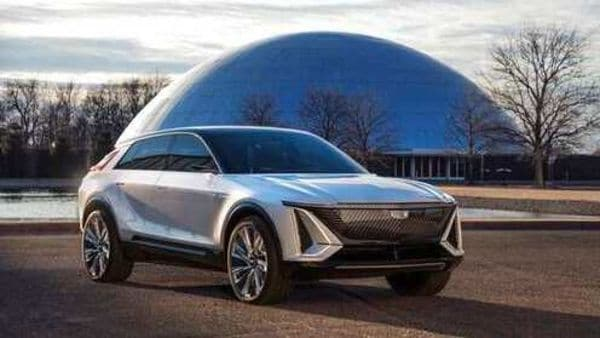 This photo provided by General Motors shows the Cadillac Lyriq. General Motors' Cadillac brand is the latest to roll out an electric vehicle with the promise of taking sales from market leader Tesla. (AP)