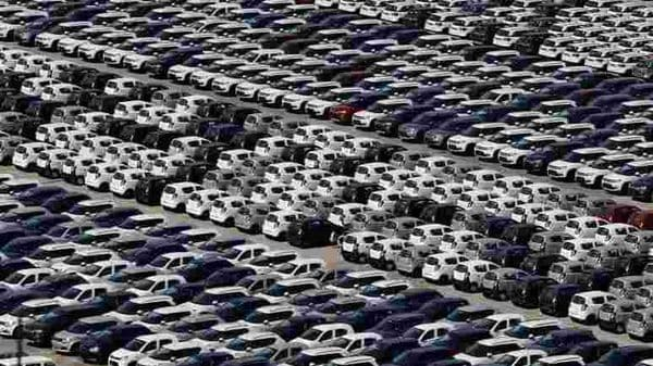 Overall vehicle registrations in July were 11.42 lakh as compared to 17.92 lakh in July of 2019. (REUTERS)