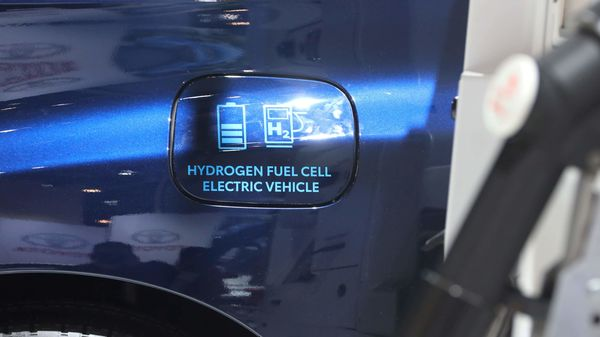 A hydrogen electric fuel cell car. (Representational image) (REUTERS)