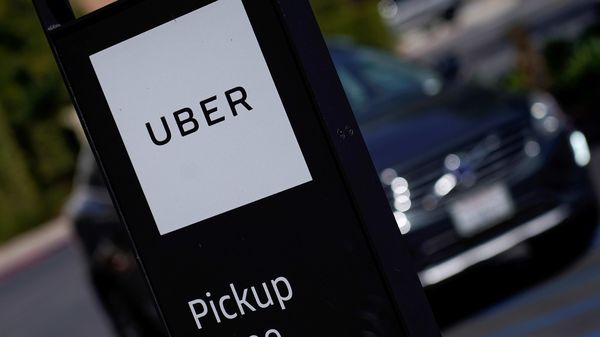 FILE PHOTO: An Uber pick-up location is pictured in San Diego, California. (REUTERS)