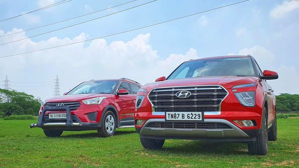 Creta has come a long way since it was first launched back in 2015 to the 2020 second-generation version. (HT Auto/Sabyasachi Dasgupta)
