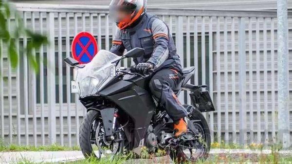 2021 KTM RC390. Image Credits: Motorrad-magazin.at