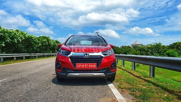 Honda WR-V now comes with BS6-compliant petrol and diesel engine options. (Photo:HT Auto/Sabyasachi Dasgupta)