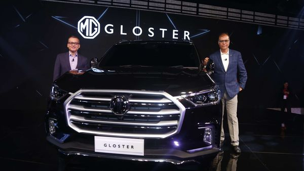 File photo - The India-bound Gloster SUV from MG Motors at Auto Expo 2020.