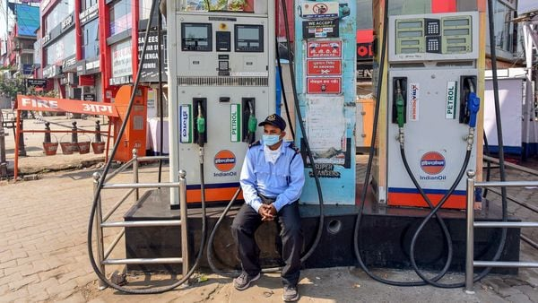 File photo of a petrol pump used for representational purpose only (PTI)