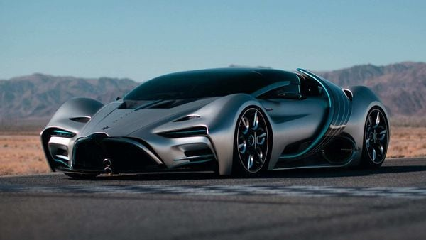 The California-based carmaker has unveiled the XP-1 hydrogen supercar.