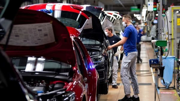 Representational image of a car factory (REUTERS)
