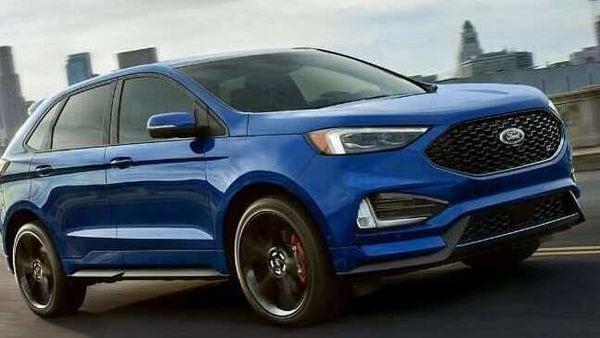 Ford Edge crossover SUV.