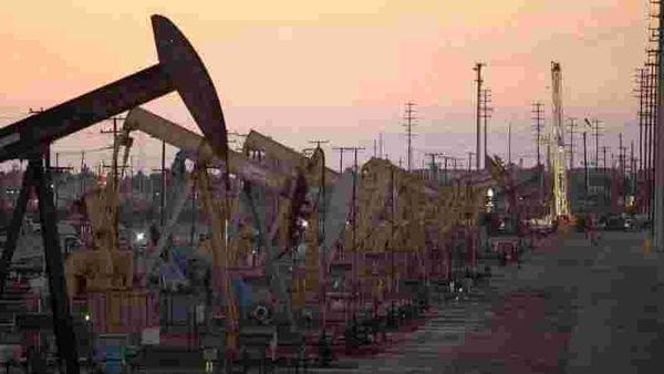 File photo of oil rig pumpjacks used for representational purpose (REUTERS)