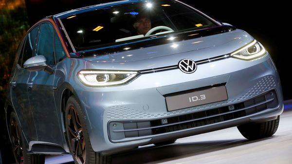 Volkswagen ID.3 electric car (REUTERS)