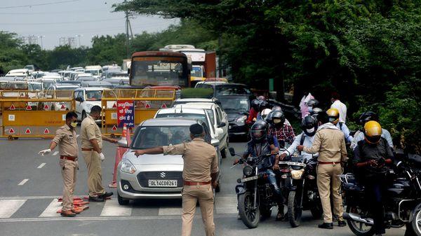 Delhi-Noida border (Representational photo)