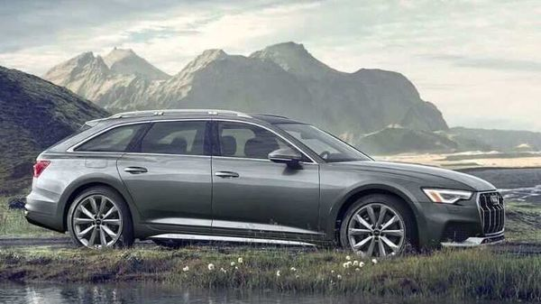 Audi A6 Allwheel comes with 20-inch wheels as standard with a reasonably high ground clearence.