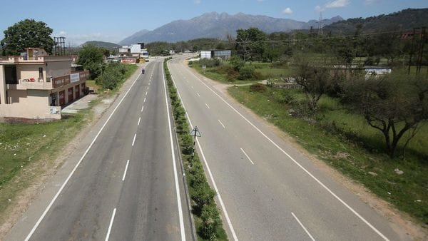Estimated to cost over Rs. 35,000 crores, the important cities through which this Expressway Corridor will pass include Jammu and Kathua in J&K, and Jalandhar, Amritsar, Kapurthala and Ludhiana in Punjab. (File photo) (AP)