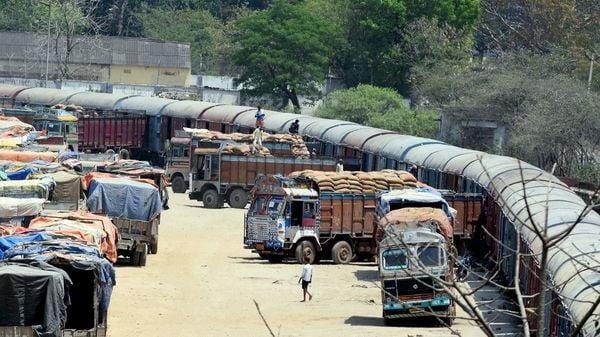 Representational photo of trucks