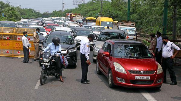 Noida-Delhi border (File photo)