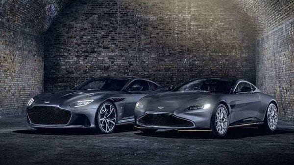 Aston Martin is celebrating the release of the 25th Bond film No Time To Die with two unique 007 cars from the Q by Aston Martin team.