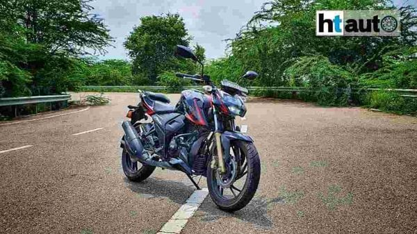 The TVS Apache RTR 200 4v was originally introduced in 2016. (Image: Sabyasachi Dasgupta)