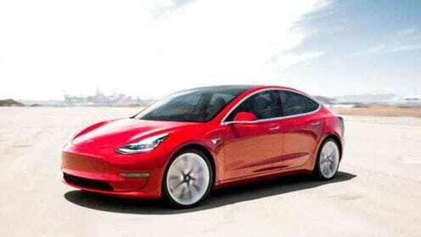 Your favourite Model 3 to soon play snake jazz unless you prefer some elevator music instead. (File photo) (AP)